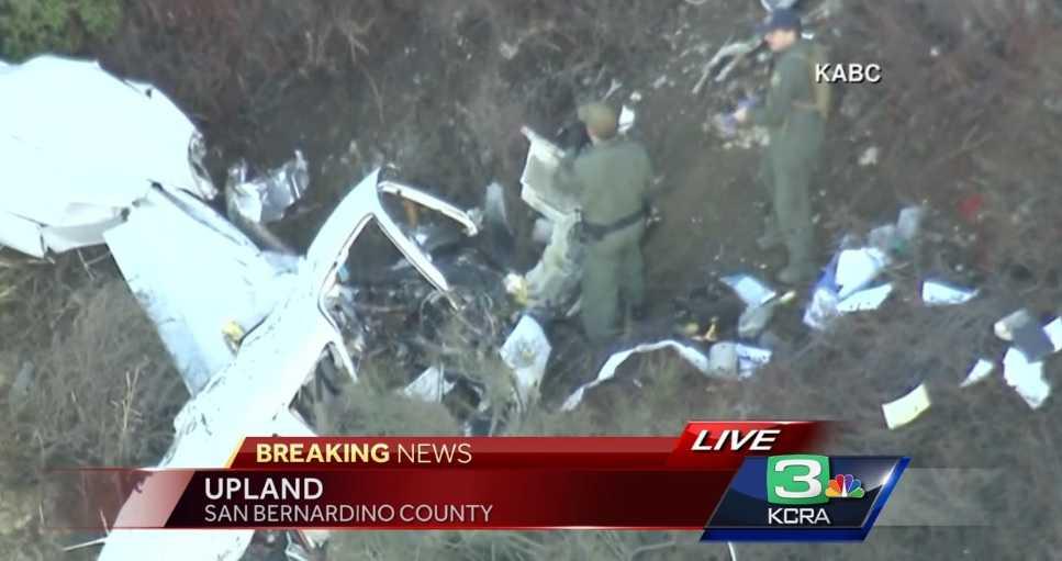 Deputies respond to small plane crash on California mountain