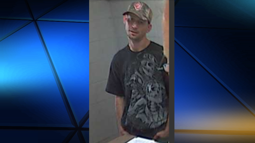 Person of Interest in cemetery vase thefts