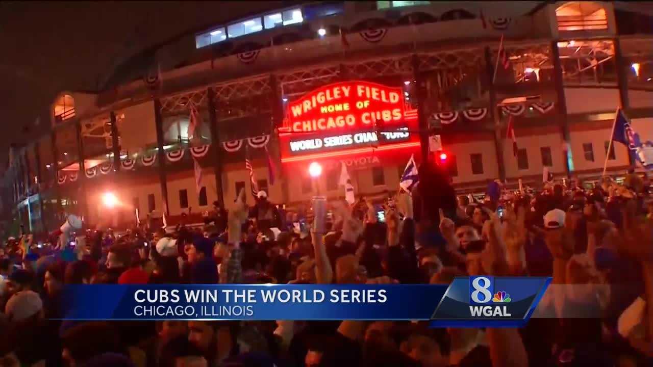 Cubs win World Series Wrigley Field