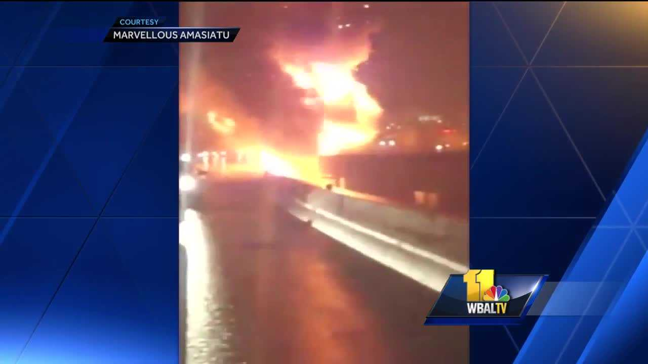 MDTA police identify tanker truck driver killed in massive I-95 crash