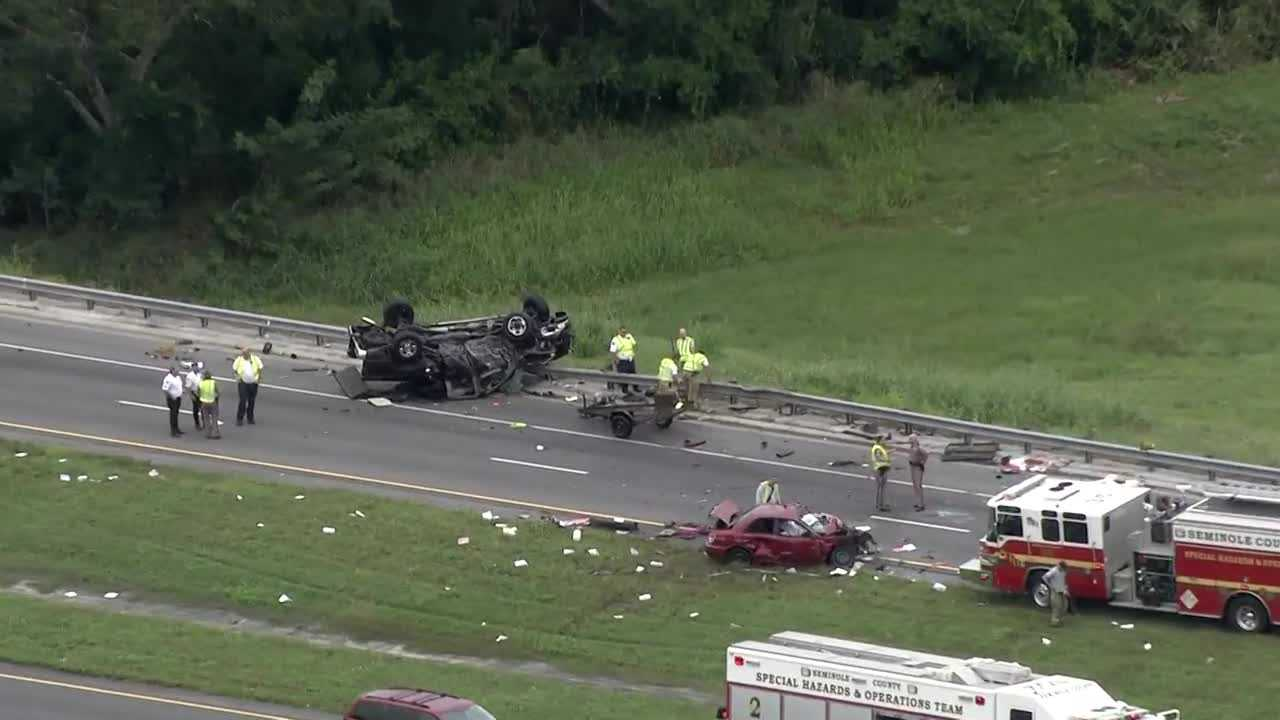 SR 417 fatal crash Lake Mary