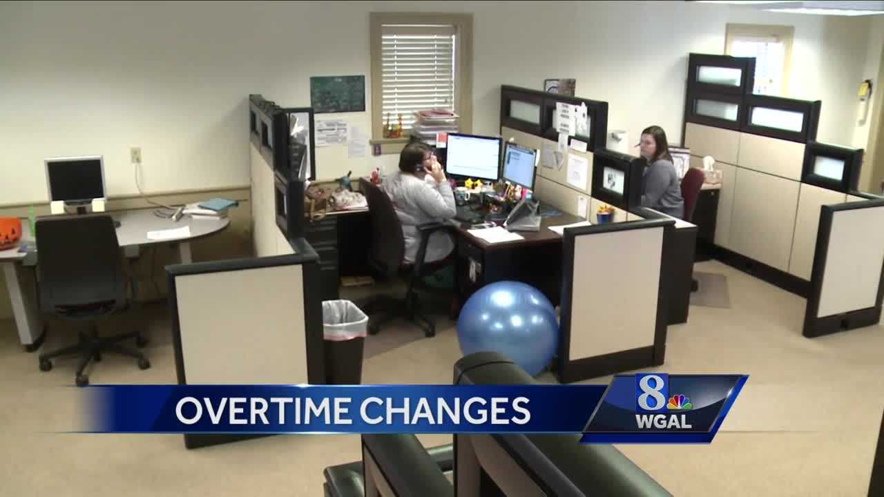 Overtime changes for more workers