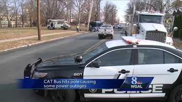 City bus crash Harrisburg