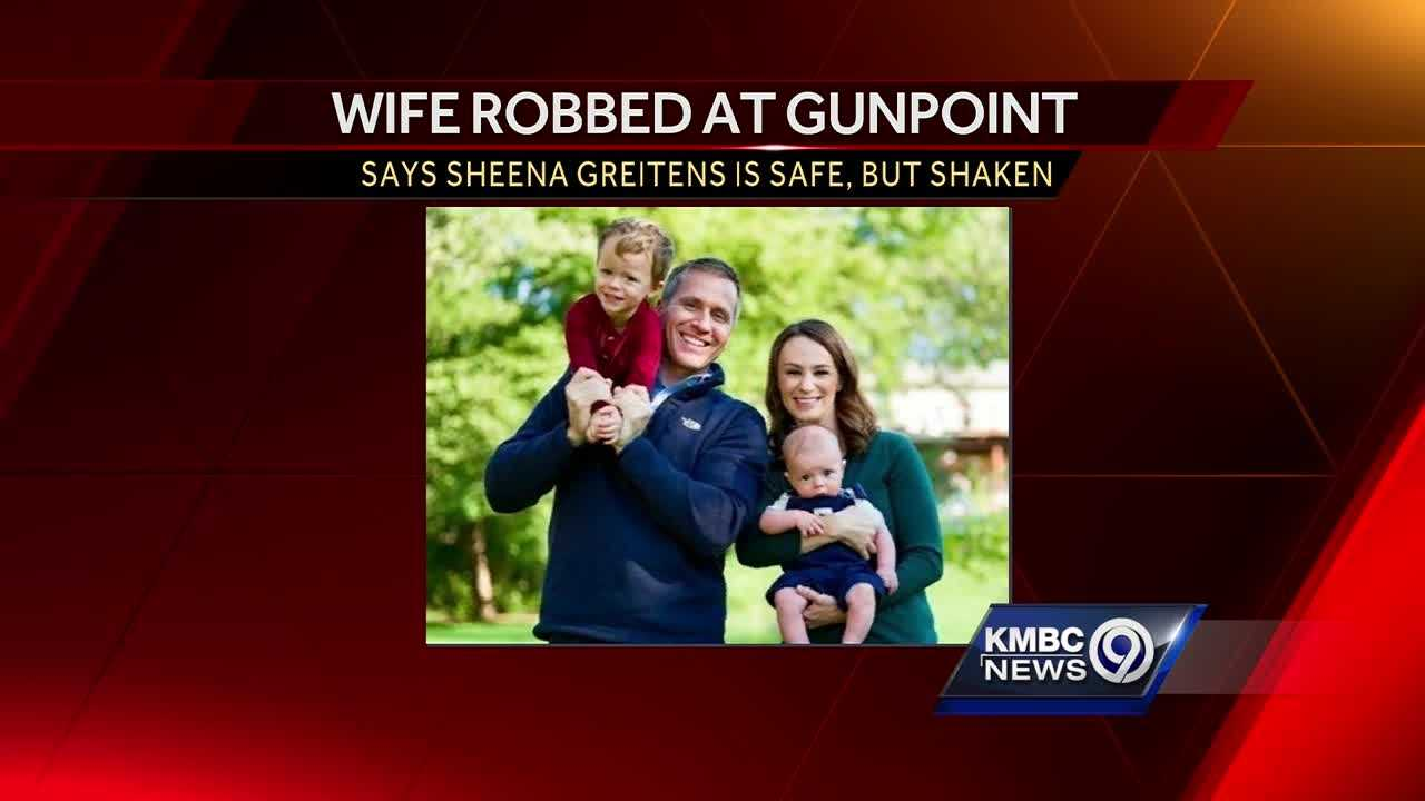 Missouri governor-elect says wife robbed at gun point near home