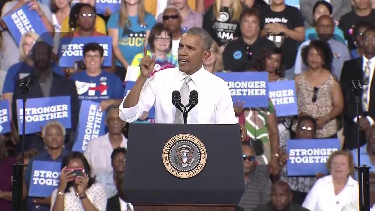 Obama at UCF