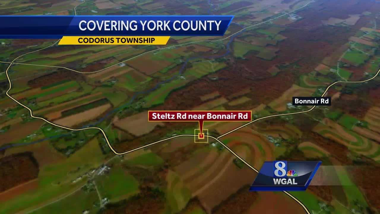 Fatal crash Codorus Township map