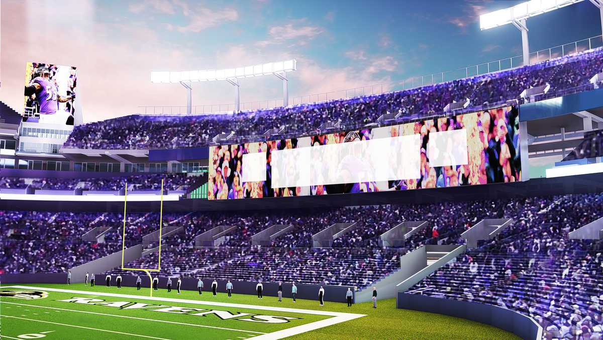 Ravens announce $120M in upgrades to M&T Bank Stadium