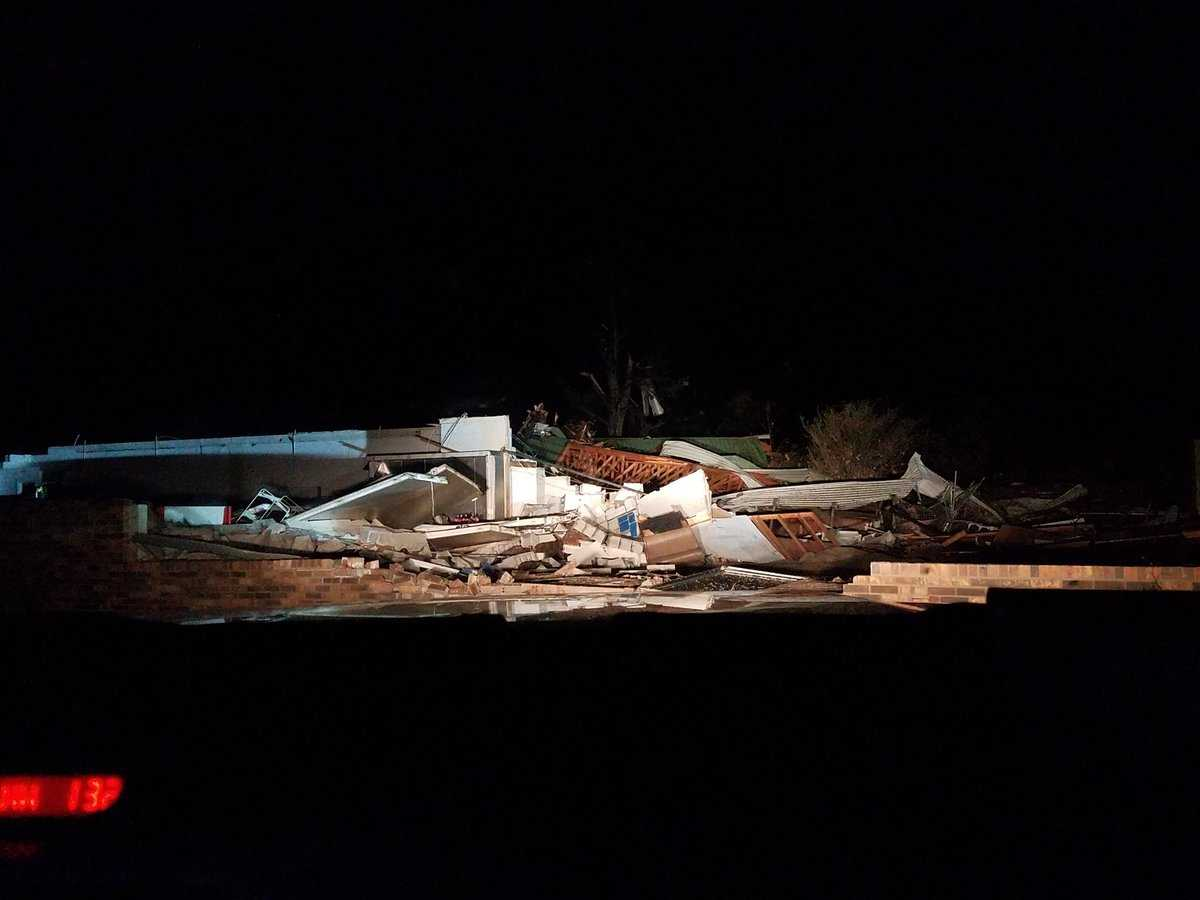 3 killed by suspected tornado as storms ravage the South
