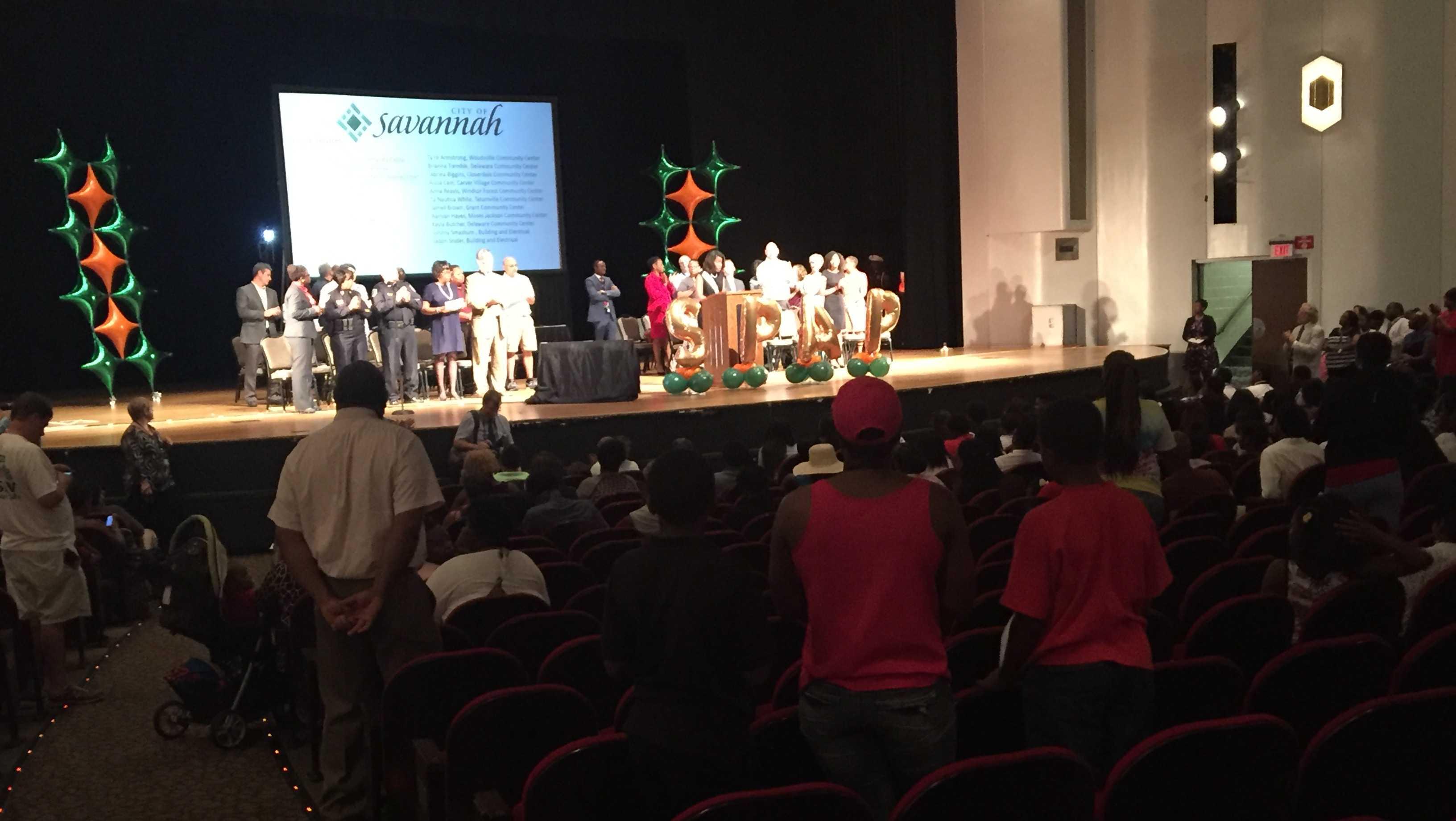 Savannah Pre-Apprentice Program Graduation