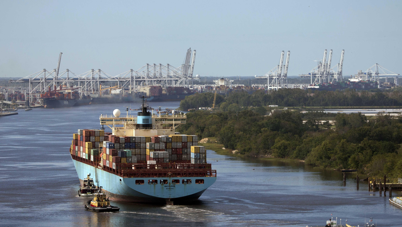 Port of Savannah - MSC Kleven