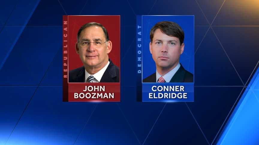 Senator John Boozman and candidate Conner Eldridge