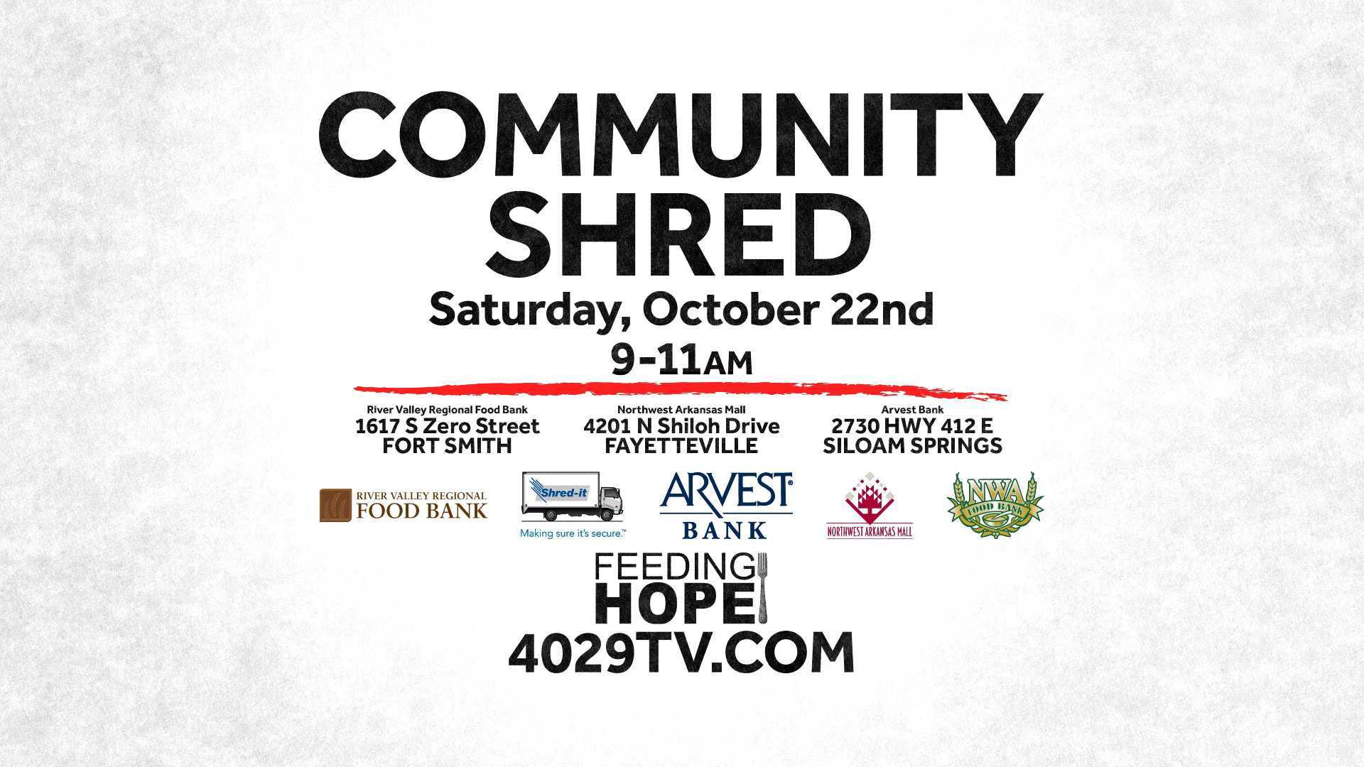 Community Shred Info