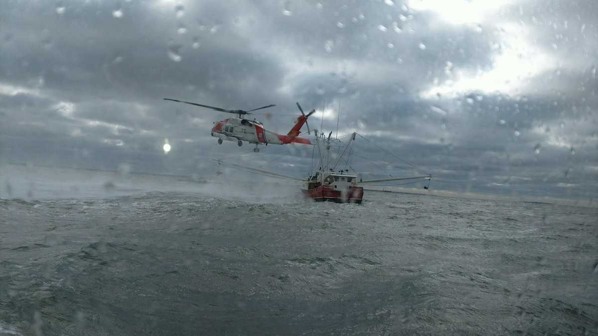 Coast Guard Rescues 6 From NC Fishing Boat