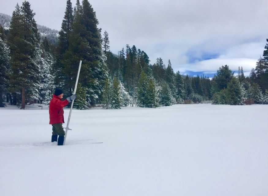 Halfway Through Wet Season, California's Snowpack 53 Percent There
