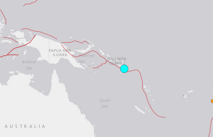 Tsunami warnings canceled after Solomon Islands earthquake