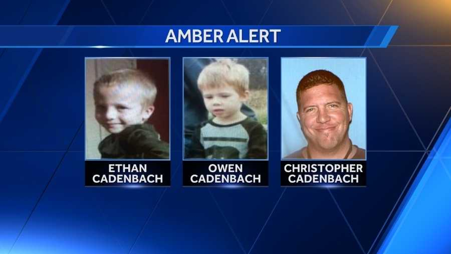 Amber Alert issued for two missing St. Louis County boys