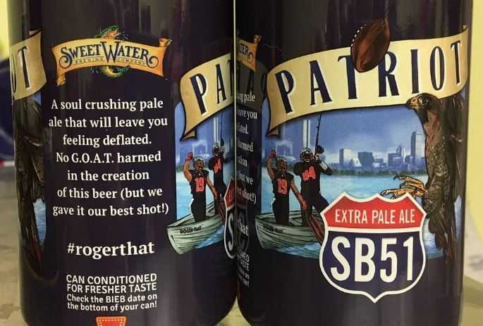 Atlanta's SweetWater Brewing release Patriot extra pale ale