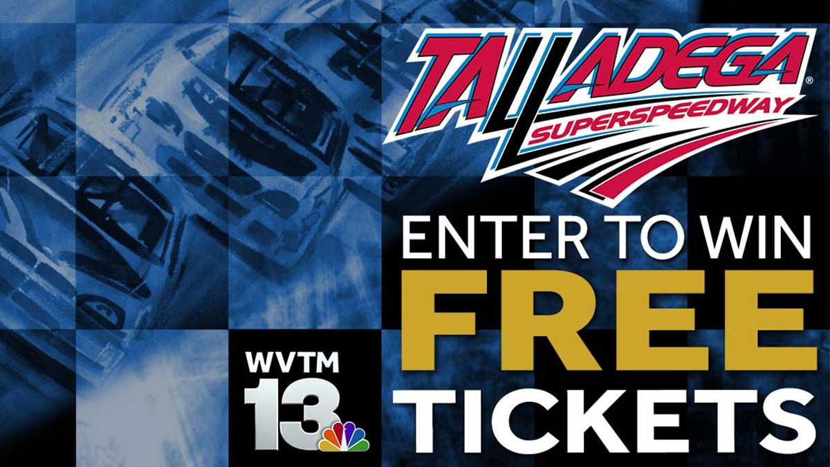 Enter to win free tickets to the Talladega Superspeedway