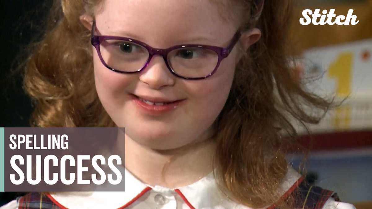Student with Down syndrome spells her way to S-U-C-C-E-S-S