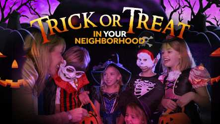 Halloween Trick or Treat Times List