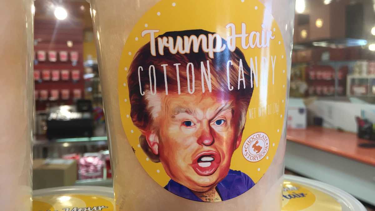 DM candy store offers 'Trump Hair Cotton Candy'