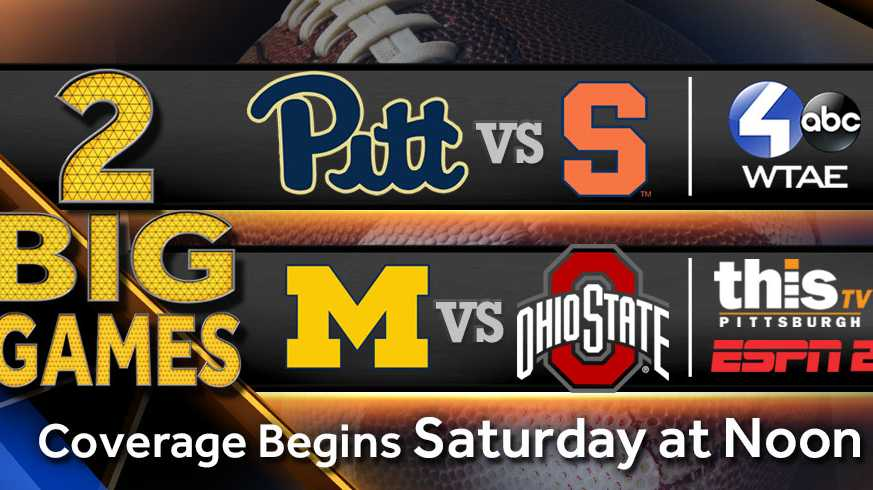 Pitt vs. Syracuse