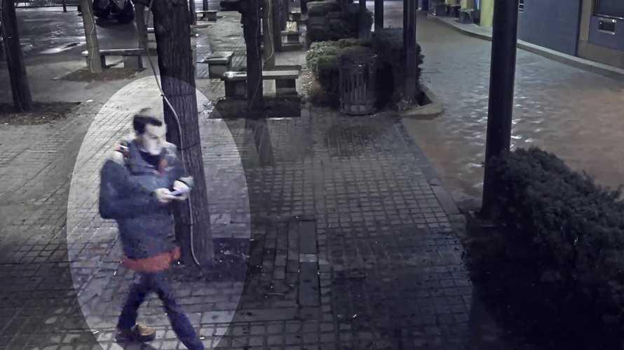 Surveillance image of Dakota James