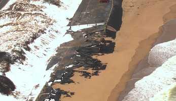 Erosion along Cape Cod