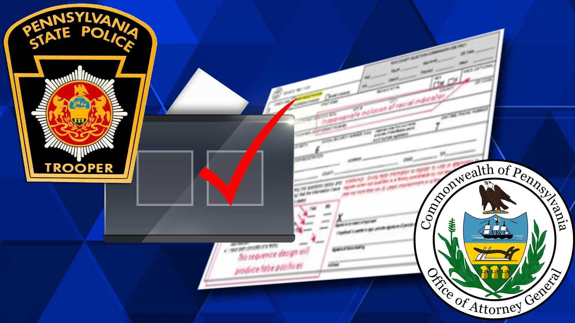 PA Voter Registration Irregularities Investigation
