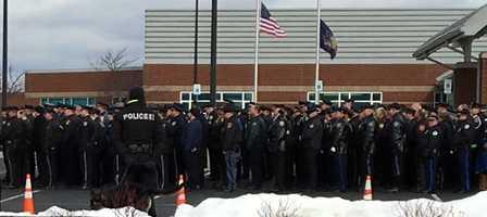 Trooper Landon Weaver funeral