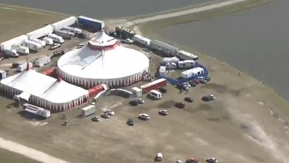 Five injured in Circus Sarasota highwire fall