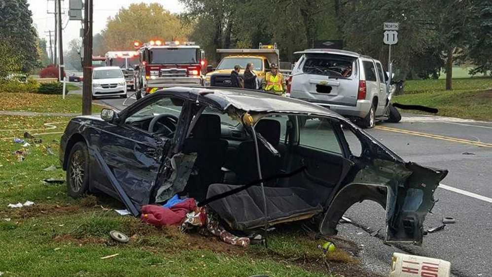 West Pennsboro fatal crash scene