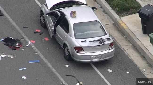 Officer responding to vehicle crash is shot dead; 2nd officer wounded