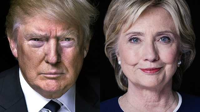 Clinton maintains narrow lead over Trump in 4 battleground states