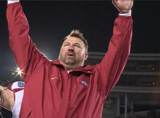 Paul Rhoads named defensive coordinator at Arkansas