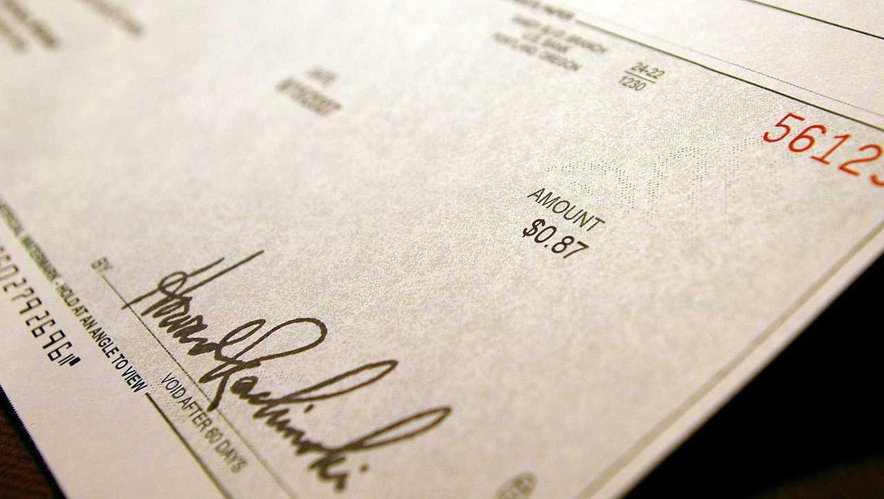 generic check