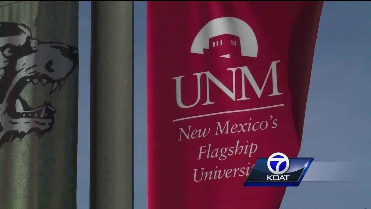 The university of new mexico is back in session today.