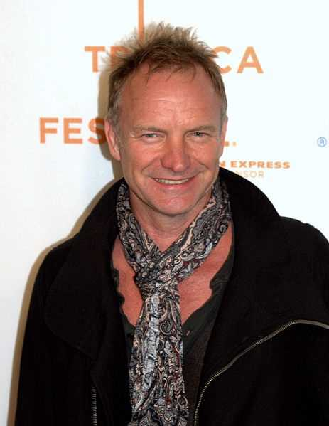 Sting to Be Honored at American Music Awards Next Month