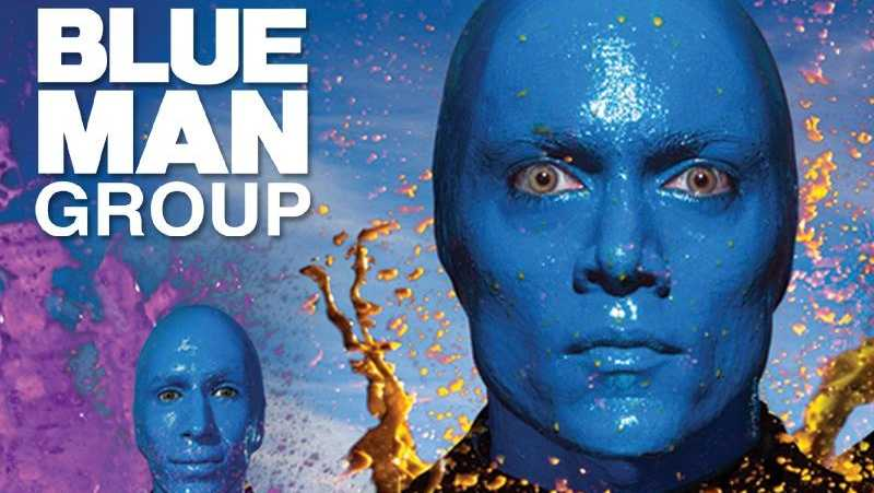 Blue Man Group contest background - 20342679