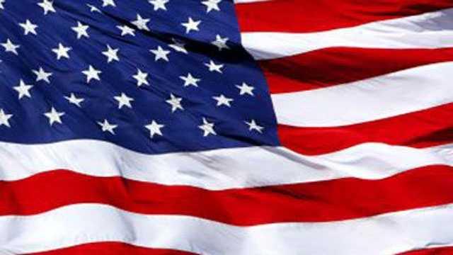 US flag, American flag