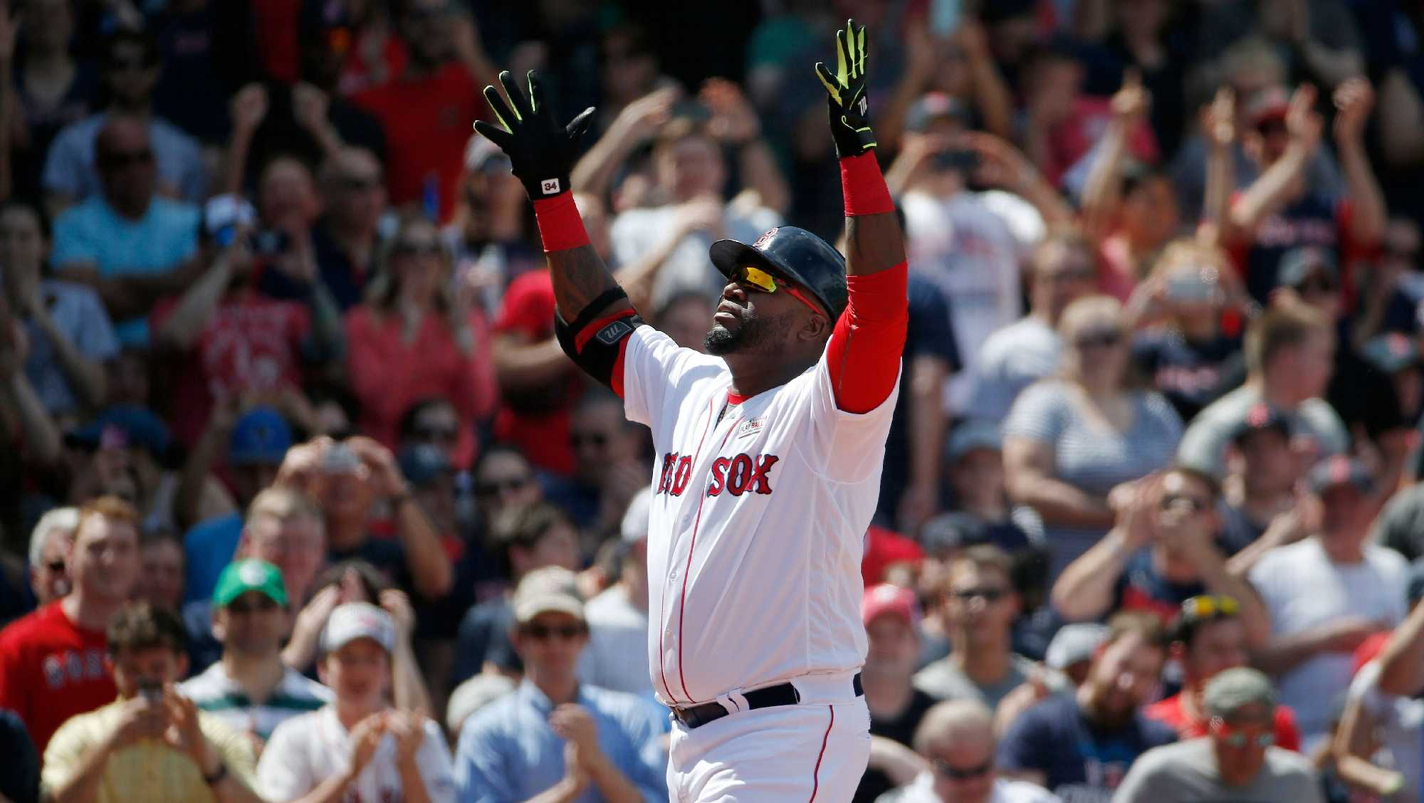 Red Sox announce plans to retire David Ortiz' No. 34