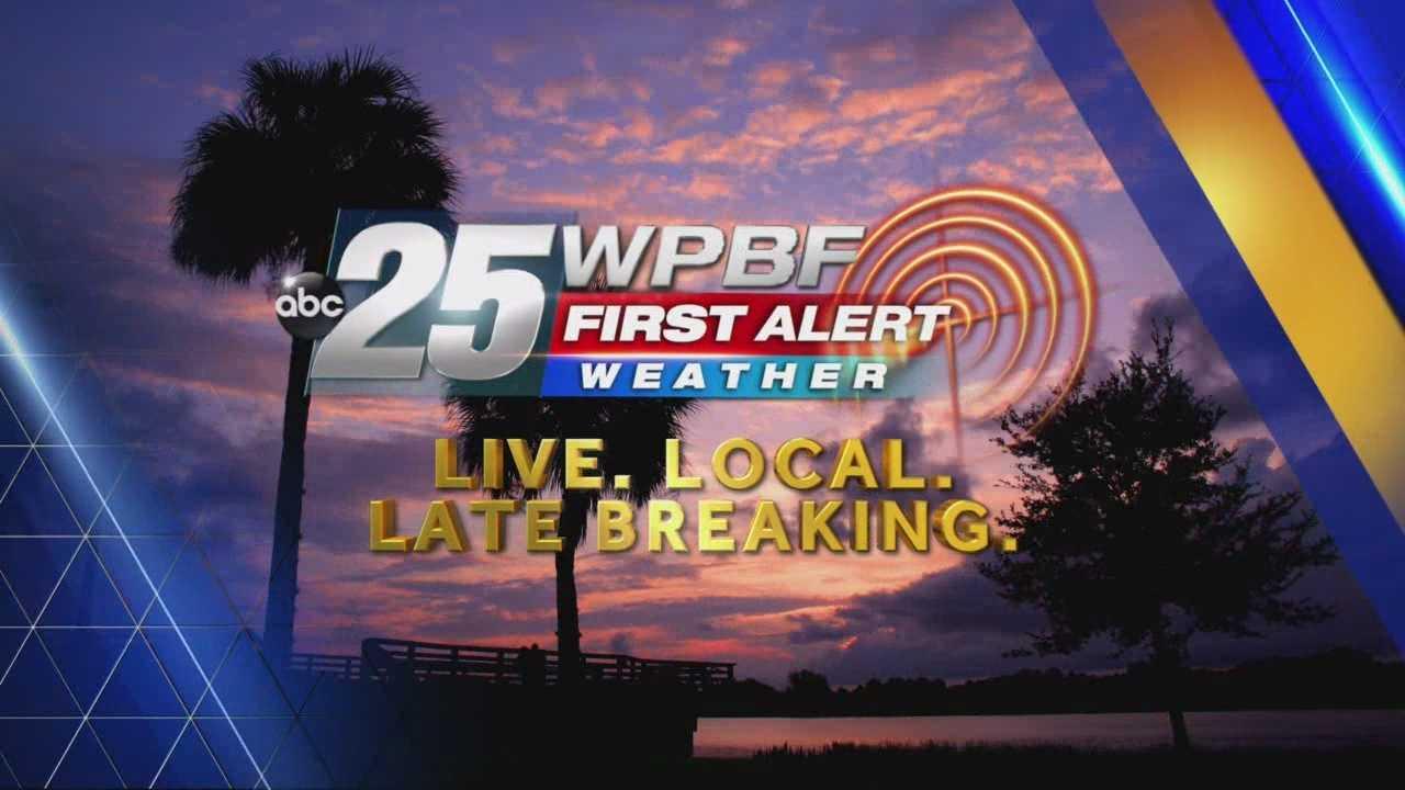 WPBF 25 First Alert Evening Forecast 12- 4