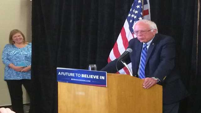 Sen. Bernie Sanders to campaign in Arizona for Clinton on Tuesda