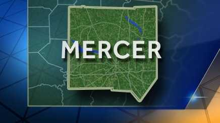 Mercer County map (2016)
