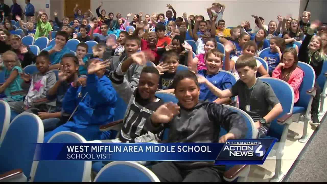 School Visit: West Mifflin Area Middle School