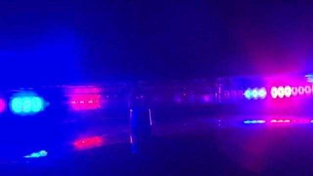 Generic Police Lights (night) - 28720471