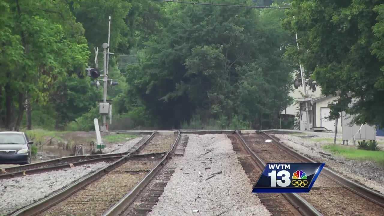 Plans for CSX train crossover on Pelham