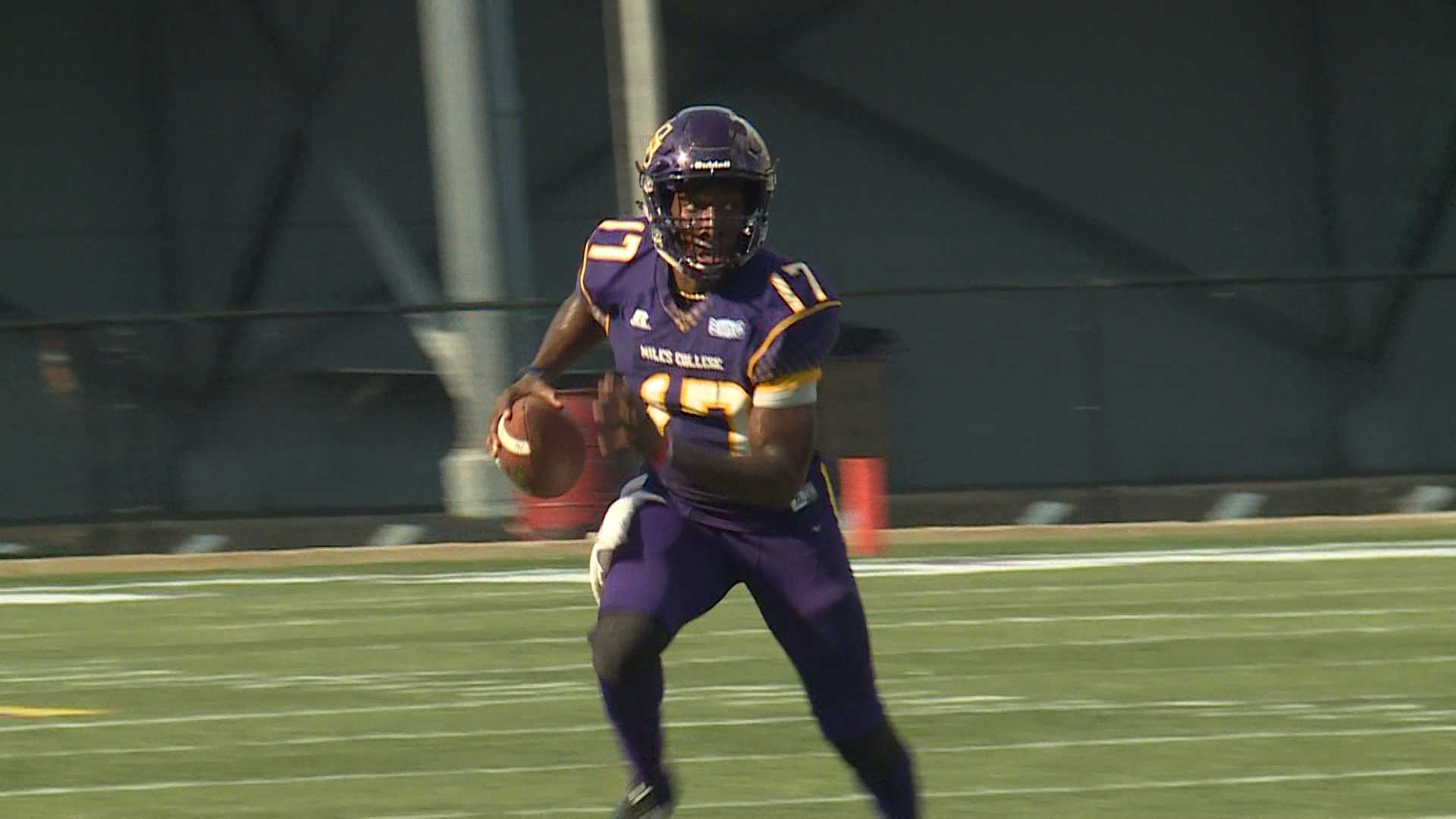 Miles tops Fort Valley State 34-21 in Labor Day Golden Classic.