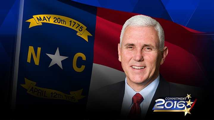 Mike Pence, Tim Kaine set to campaign in 5 NC cities
