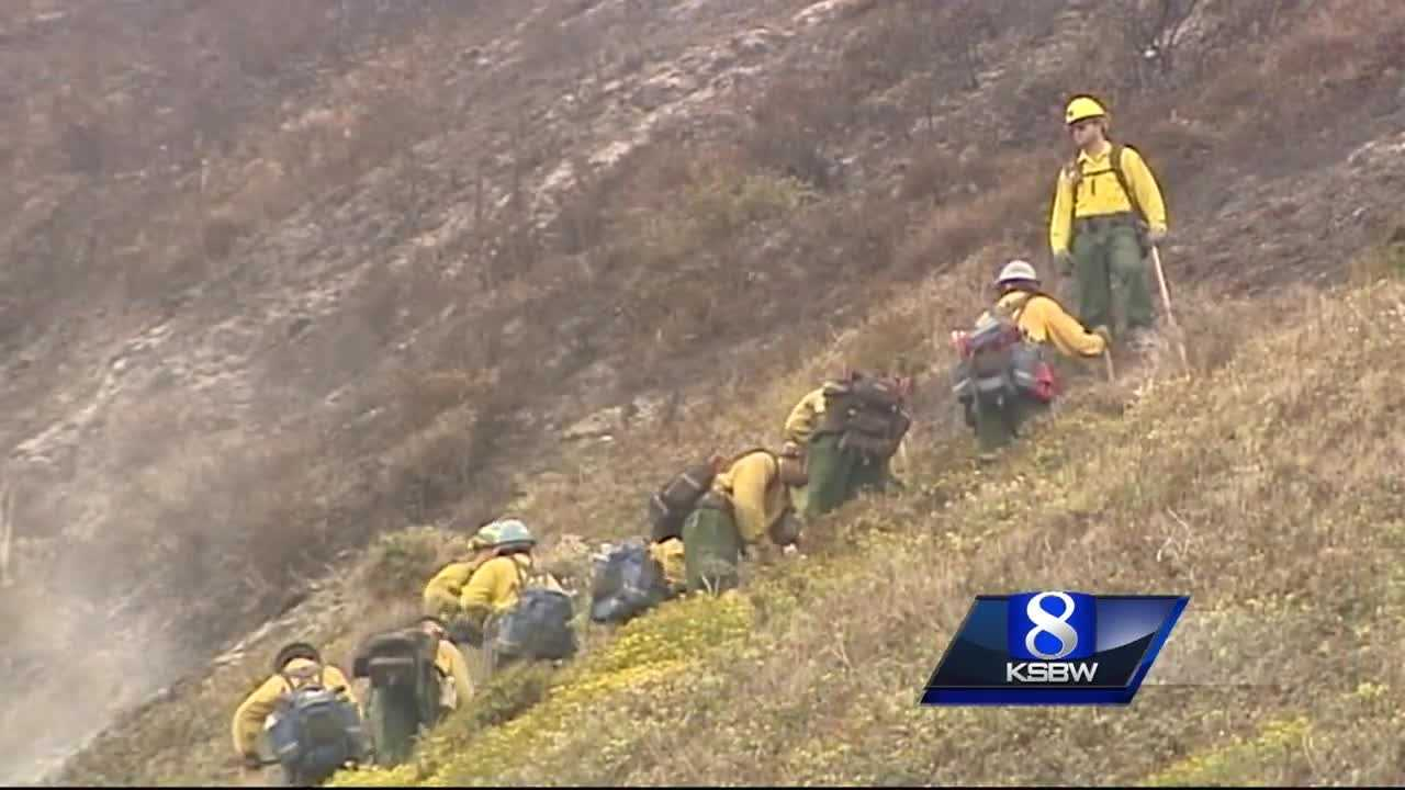 Firefighters pushing Soberanes Fire into wilderness, away from homes
